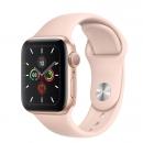 Apple Watch Series 5 (GPS) Mặt 40mm - Viền Nhôm Vàng - Dây Hồng(MWV72)