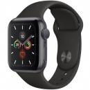 Apple Watch Series 5 (GPS) Mặt 44mm - Viền Nhôm Xám - Dây Đen(MWVF2)