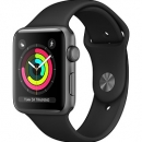 Apple Watch Series 3 (GPS) Space Gray Aluminum Case with Black Sport Band