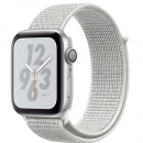 Apple Watch Series 4 (GPS) Nike+ Silver Aluminum Case with Summit White Nike Sport Loop