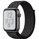 Apple Watch Series 4 (GPS) Nike+ Space Gray Aluminum Case with Black Nike Sport Loop
