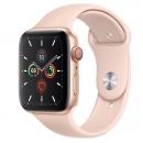 Apple Watch Series 5 (GPS + LTE) Mặt 44mm - Viền Nhôm Vàng - Dây Hồng(MWW02)