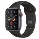 Apple Watch Series 5 (GPS + LTE) Mặt 44mm - Viền Nhôm Xám - Dây Đen(MWW12)