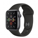 Apple Watch Series 5 (GPS) Mặt 40mm - Viền Nhôm Xám - Dây Đen(MWV82)