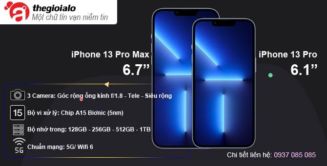 iPhone 13 Pro, Pro Max