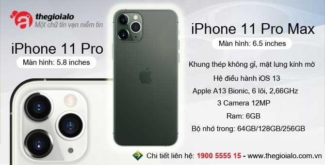 iPhone 11 pro, iPhone 11 pro max chính hãng Apple