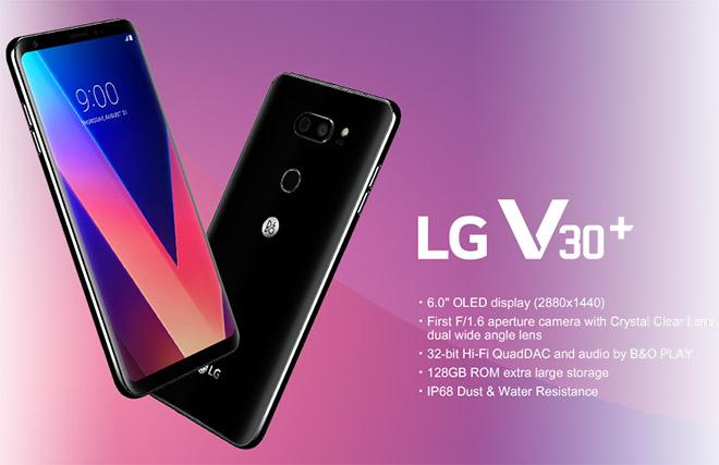 LG V30 nâng cấp tích hợp trí tuệ nhân tạo