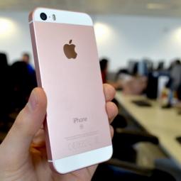 Apple biến Rose Gold thành màu nam tính