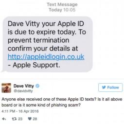 Chiêu lừa đánh cắp tài khoản iCloud qua tin nhắn