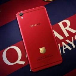 Oppo F1 Plus phiên bản Barcelona sắp ra mắt