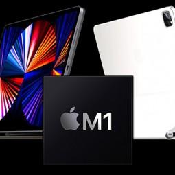 Hiệu suất iPad Pro M1 nhanh hơn 50% so với trước đó