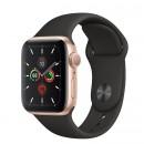 Apple Watch Series 5 (GPS) Mặt 40mm - Viền Nhôm Vàng - Dây Đen(MWV82)