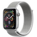 Apple Watch Series 4 (GPS) Silver Aluminum Case with Seashell Sport Loop
