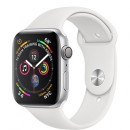 Apple Watch Series 4 (GPS) Silver Aluminum Case with White Sport Band