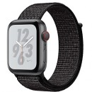 Apple Watch Series 4 (GPS + Cellular) Nike+ Space Gray Aluminum Case with Black Nike Sport Loop