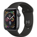 Apple Watch Series 4 (GPS) Space Gray Aluminum Case with Black Sport Band