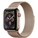 Apple Watch Series 4 (GPS + Cellular) Gold Stainless Steel Case with Gold Milanese Loop