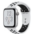 Apple Watch Series 4 (GPS) Nike+ Silver Aluminum Case with Pure Platinum/Black Nike Sport Band