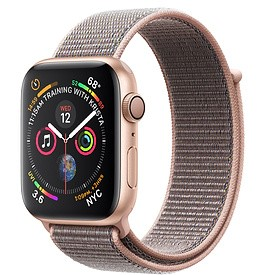Apple Watch Series 4 (GPS) Gold Aluminum Case with Pink Sand Sport Loop