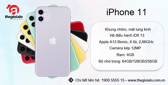 iPhone 11 chính hãng Apple