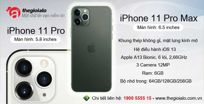 iPhone 11 pro, iPhone 11 pro max chính hãng Apple